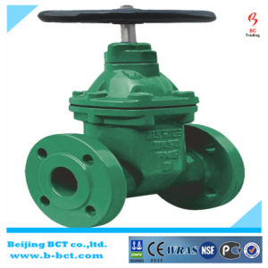 "Ductile Iron/Cast Iron 2"" Inch Flange Gate Valve Manufacturer Bct-Gv03 pictures & photos"