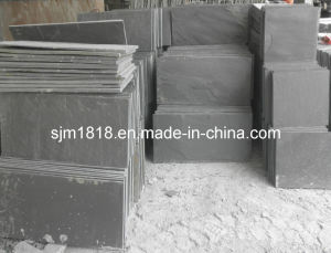 100% Natural Black Slate Slabs (CSST-011)