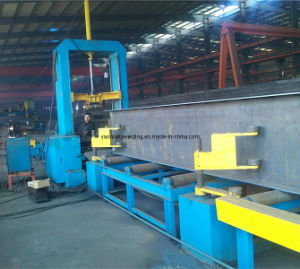 Steel Structure H Beam Automatic Spot Welding Assembling Machine pictures & photos