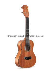 "26"" Mahogany Solid Guitar Ukulele with Ebony Fingerboard (UT-200R) pictures & photos"