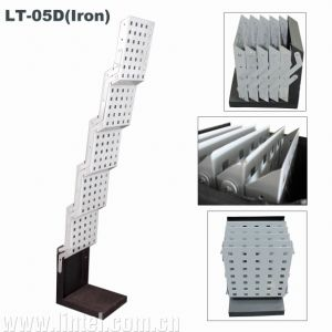 Iron Literature Stand Folding Brochure Holder (LT-05D) pictures & photos