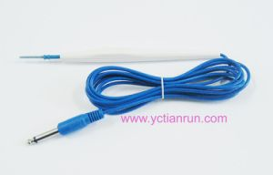 Disposable Electrosurgical Pencil, 6.3mm Jack Connector pictures & photos