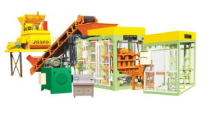Qt4-15 Fully Automatic Shengya Cement Solid Brick Machine/Cement Hollow Block Making Machine in Nigeria pictures & photos