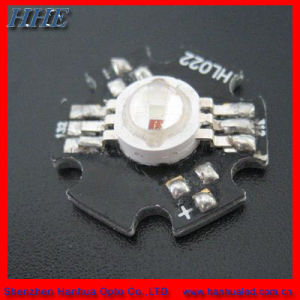 High Power 3W RGB LED Diode with PCB