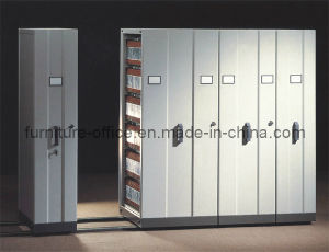 Hand-Pull Mobile Filing Cabinet (T4A-04)