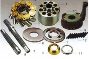 Kawasaki Hydraulic Piston Pump Rotary Parts pictures & photos