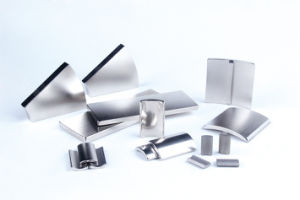 Neodymium Magnet 45SH R60 xr35x12x15° pictures & photos