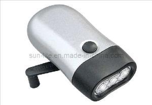 Dynamo Flashlight With 3 LED (DY-2006ML)