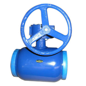 APC Welded Ball Valve with Gear Box