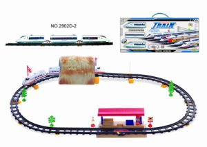 Battery Operated Railway Train with Subway Station & Cave (2902D-2)