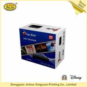 Top Star Coated Paper Packaging Box for DVD pictures & photos