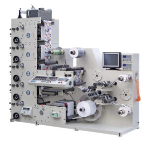 Flexo Printing Machine with Slitting Unit (AC320-5B) pictures & photos