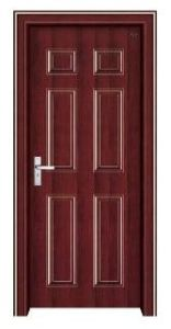 New Steel Wooden Door (EWS007)