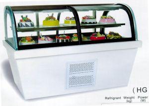 1.5m1.8m2.0marc Sliding Door Cake Display Showcase (HG-1500/1800/2000) pictures & photos