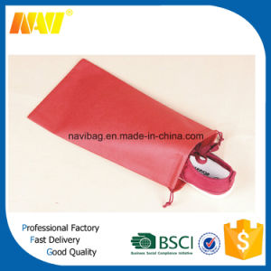 Promotion Cheap Non Woven Shoe Bag with Drawstring pictures & photos
