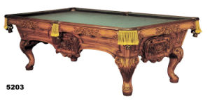 Slate Billiard Table (KBP-5203) pictures & photos