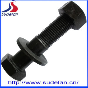 ASTM Hex Bolt and Nut with Washer 1045