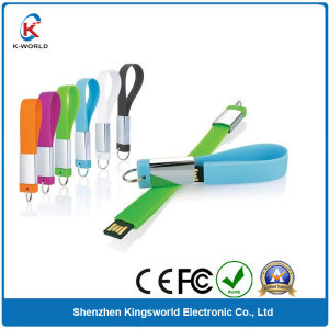 Waterproof Silicon Bracelet USB Flash Disk