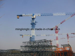 Flat Top Tower Crane QTZ125P(PT6015) pictures & photos
