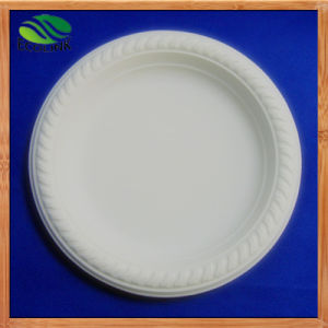 6inch Cornstarch Plate Biodegradable Plate pictures & photos