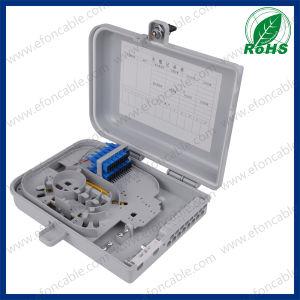Fdb 12 Core Plastic Watrerproof Fiber Optic Distribution Box pictures & photos