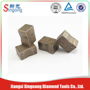Diamond Granite and Marble Basalt Segments pictures & photos