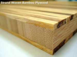 "3/4"" Strand Woven Tiger Color Bamboo Plywood pictures & photos"