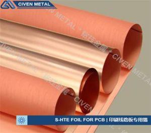 S-Hte ED Copper Foils for PCB