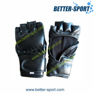 Grappling Gloves, MMA Glove in PU Material pictures & photos