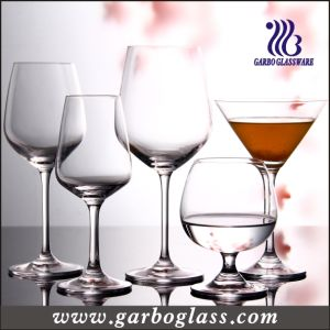 11oz High Quality Lead Free Wine Crystal Stemware (GB083111) pictures & photos