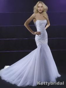 Wedding Dress&Wedding Gown&Bridal Dress (KB1065)