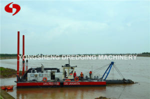 18 Inch Slurry Pump Dredger with Dredging Depth 15m pictures & photos