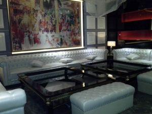 Nightclub Cheap Corner Recliner Sofa (KTV134) pictures & photos