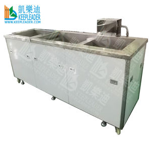 Ultrasonic Cleaning Machine, 3 Tank/ Industrial Ultrasonic Cleaning Machine/ Equipment (KLE-3018)