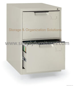 Vertical Filing Cabinet 2 Drawers (slim model) (T1-FC02) pictures & photos
