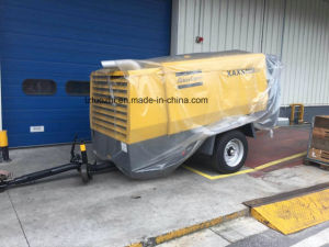 582cfm 17bar Diesel Driven Portable Screw Air Atlas Copco Compressor pictures & photos