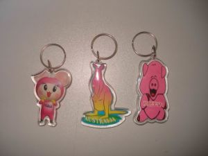 Acrylic Key Chain (XD A4-007)