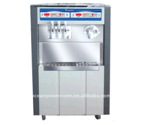 Opf38-22 Soft Ice Cream and Milk Shake Machine with 4flavors pictures & photos