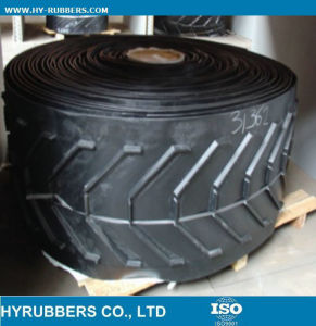 Rubber Chevron Conveyor Belt for Sale pictures & photos