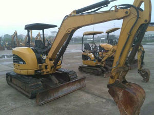 Original Used Caterpillar Mini Excavator 305c