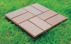 WPC Tile DIY Wood Plastic Composite Tile (HLWPC003) pictures & photos