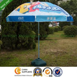 2.2m Heat Transfer Printing Sun Parasol with Double Ribs (BU-0048WD) pictures & photos