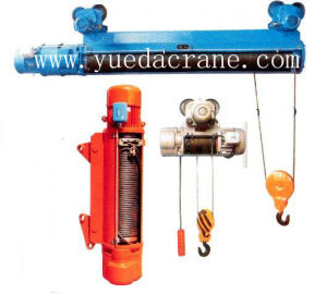 Monorail Wirerope Electric Hoist (CD & MD)