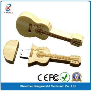 Bamboo Guitar 2GB USB Flash Memory