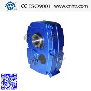 Hxgf Size B-J Helical Shaft Mounted Gear Reducer for Conveyor Belt pictures & photos