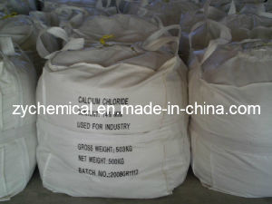Anhydrous Calcium Chloride 74% 77% 94% 95%, Industrail Grade, White Flakes or Pellet, Powde, Melt Snow and Ice in Highway, Expressway, Parking Lot and Port pictures & photos