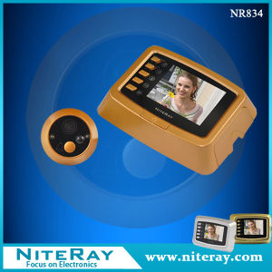 Infrared Digital Door Peephole Viewer with 3.0′′ TFT LCD Screen Video & Motion Detection