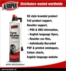 Tyre Sealer and Inflator for Car pictures & photos