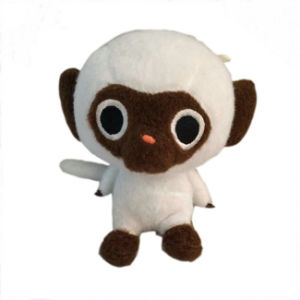 Big Eyes Monkey Stuffed Toy Mongoose Plush Toy for Sale
