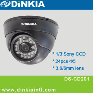 CCD Water-Proof IR Dome Camera (DS-CD201)